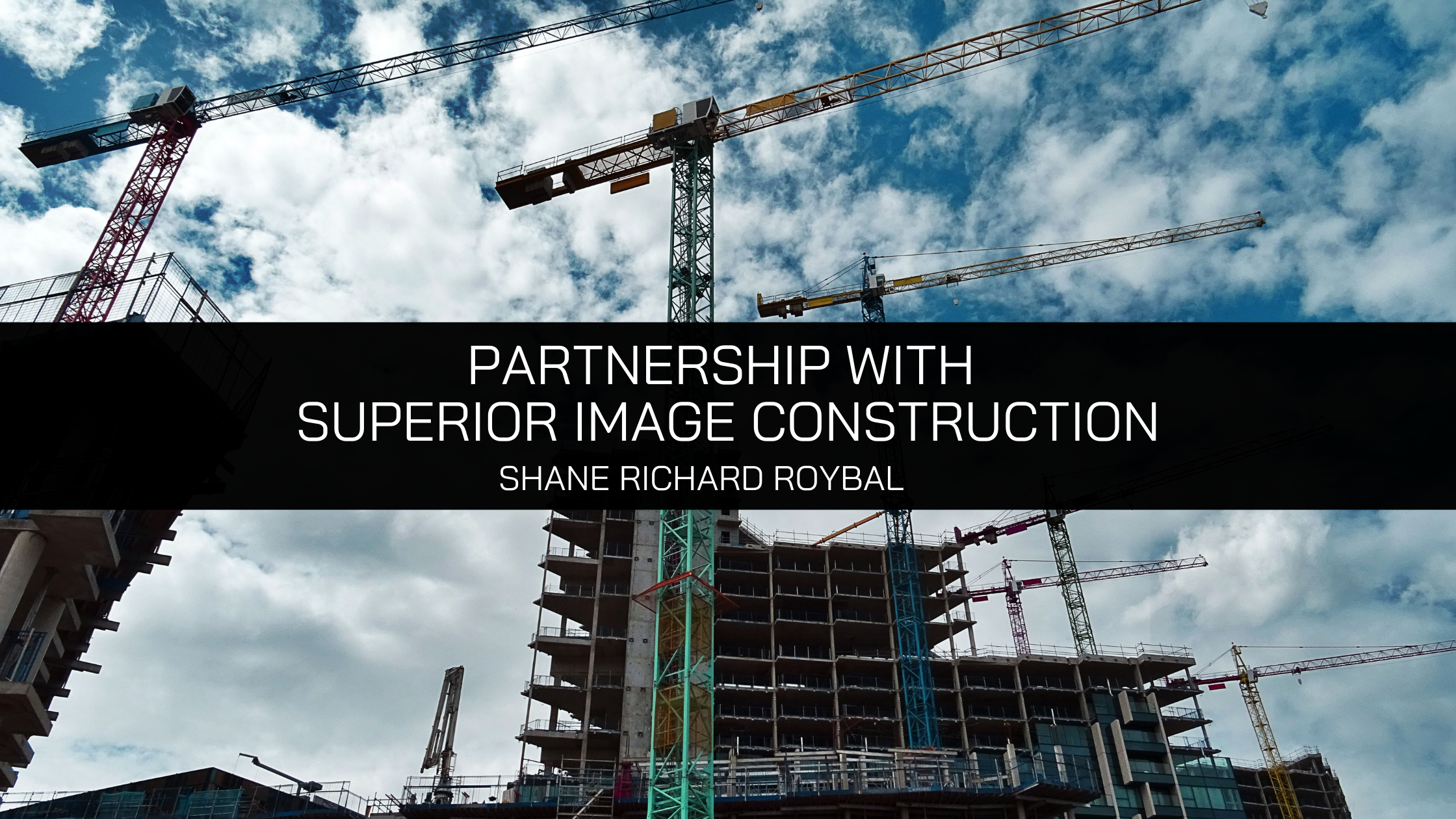 Shane Richard Roybal expands partnership with Superior Image Construction, forming Denver's premier new design-build firm
